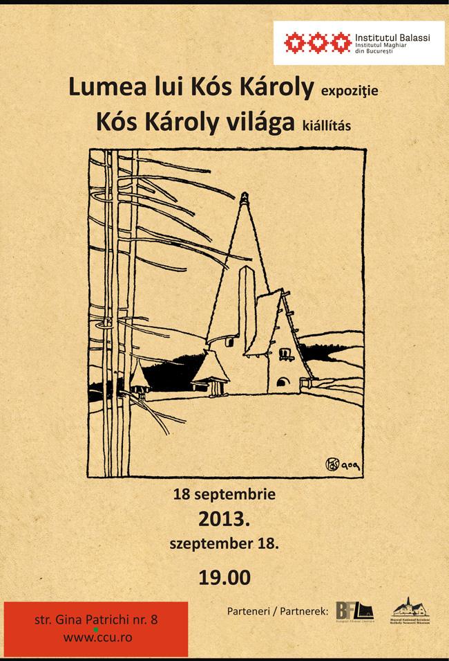 Lumea lui Kós Károly @ Institutul Balassi – Institutul Maghiar din Bucureşti