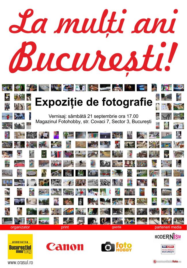 La mulți ani București! – Expoziție de fotografie