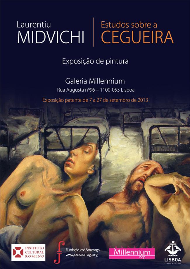 """Laurenţiu Midvichi """"Studii despre orbire"""" @ Galeria Millennium, Lisabona"""
