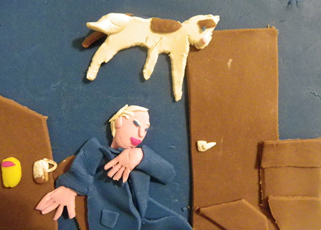 Iconic Photographs Recreated With Play-Doh