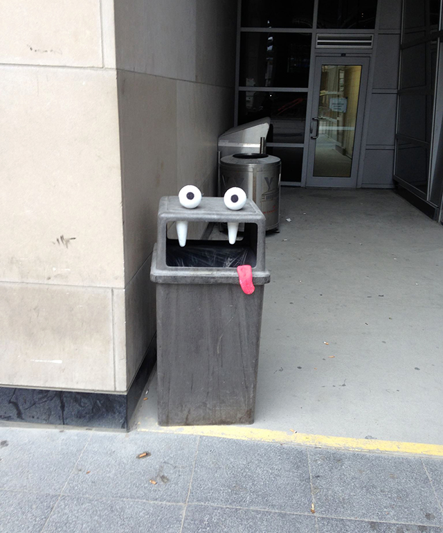 Street Artist Turns Found Objects in Toronto Into Quirky Monsters