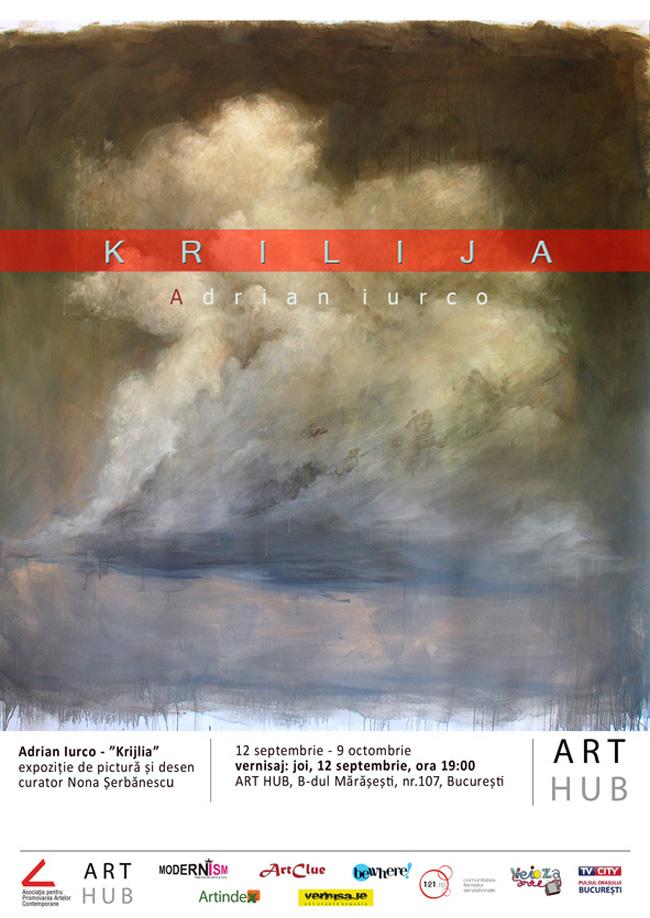 Krilija  – expoziție personală Adrian Iurco la ART HUB, București