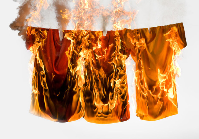 Smoke & Fire, Photos of Manipulated Fire by Rob Prideaux