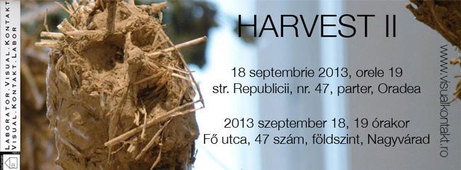 """""""Harvest II"""" @ Asociaţia Visual Kontakt, Oradea"""