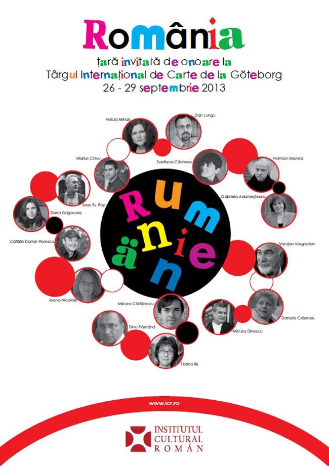 România, invitată de onoare la Târgul de Carte de la Göteborg // PROGRAM