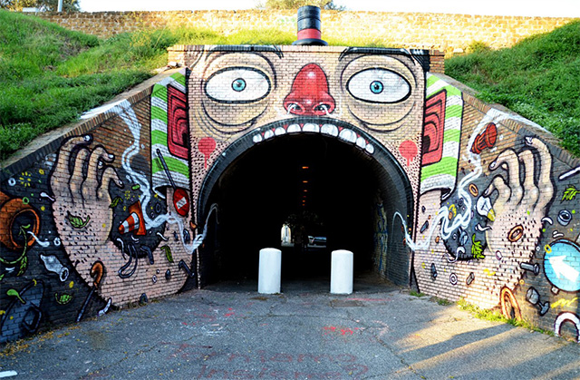 Street Art of Mr. Thoms