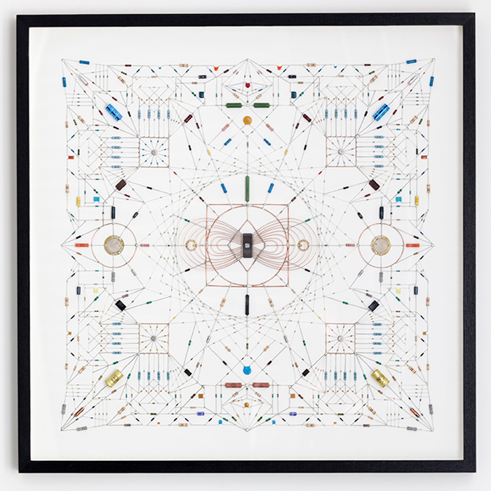 Technological Mandalas by Leonardo Ulian