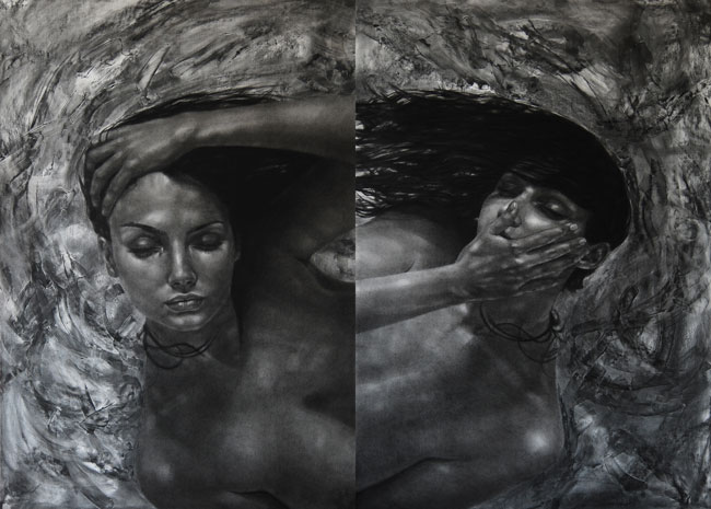 "Ada Muntean, ""Dream traces"" @ Galeria Visual Kontakt, Oradea"