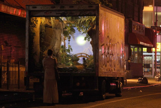 Banksy Converts a New York City Delivery Truck Into a Beautiful Garden
