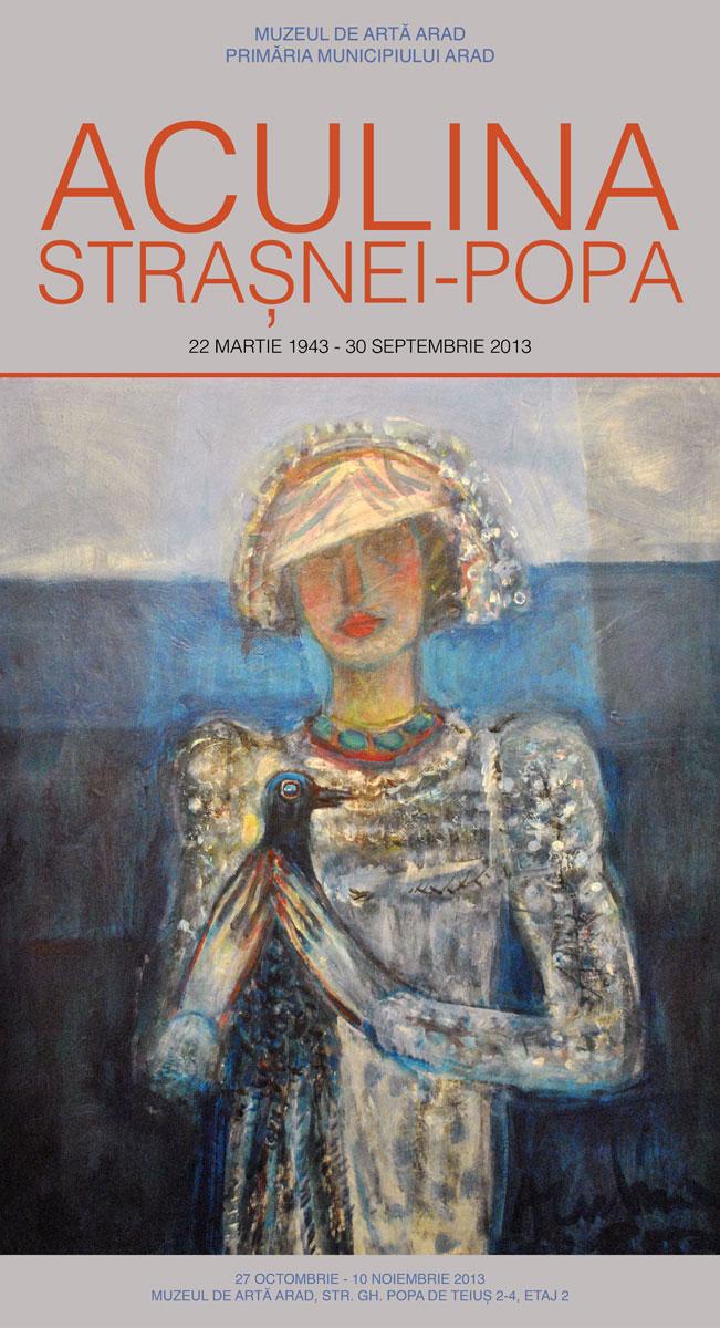 Expoziția Comemorativă Aculina Strașnei-Popa @ Muzeul de Artă din Arad