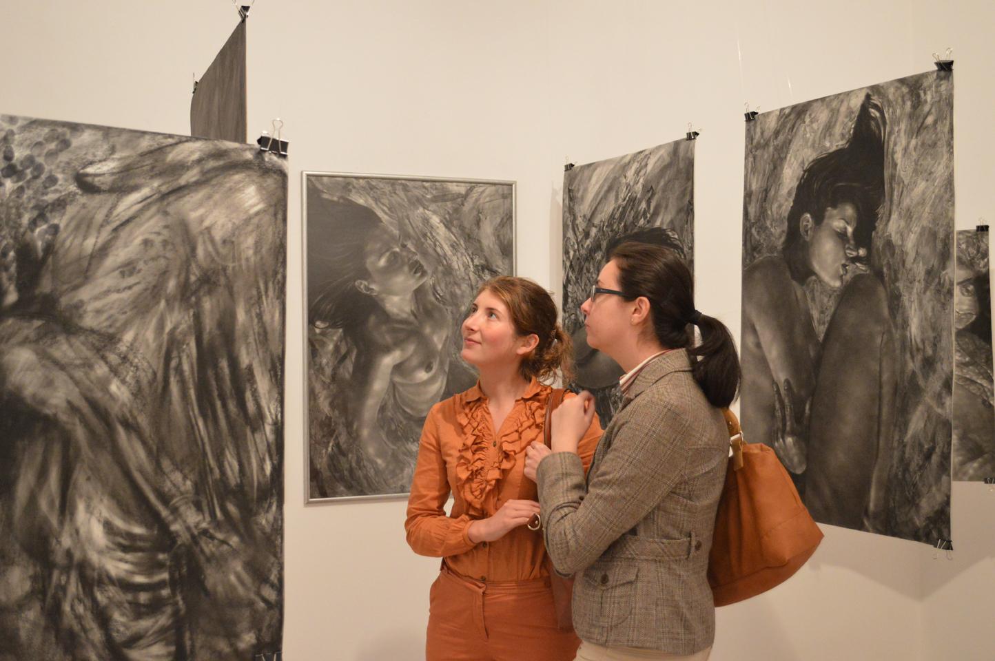 "Ada Muntean, ""Dream traces"" @ Galeria Visual Kontakt, Oradea, galerie de imagini"