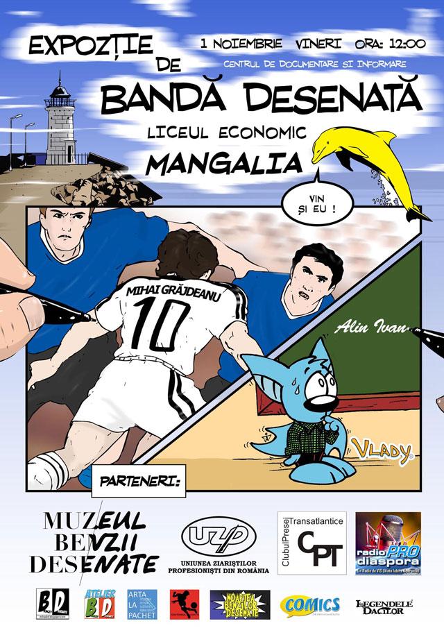 Se deschide prima expoziție de bandă desenată din Mangalia