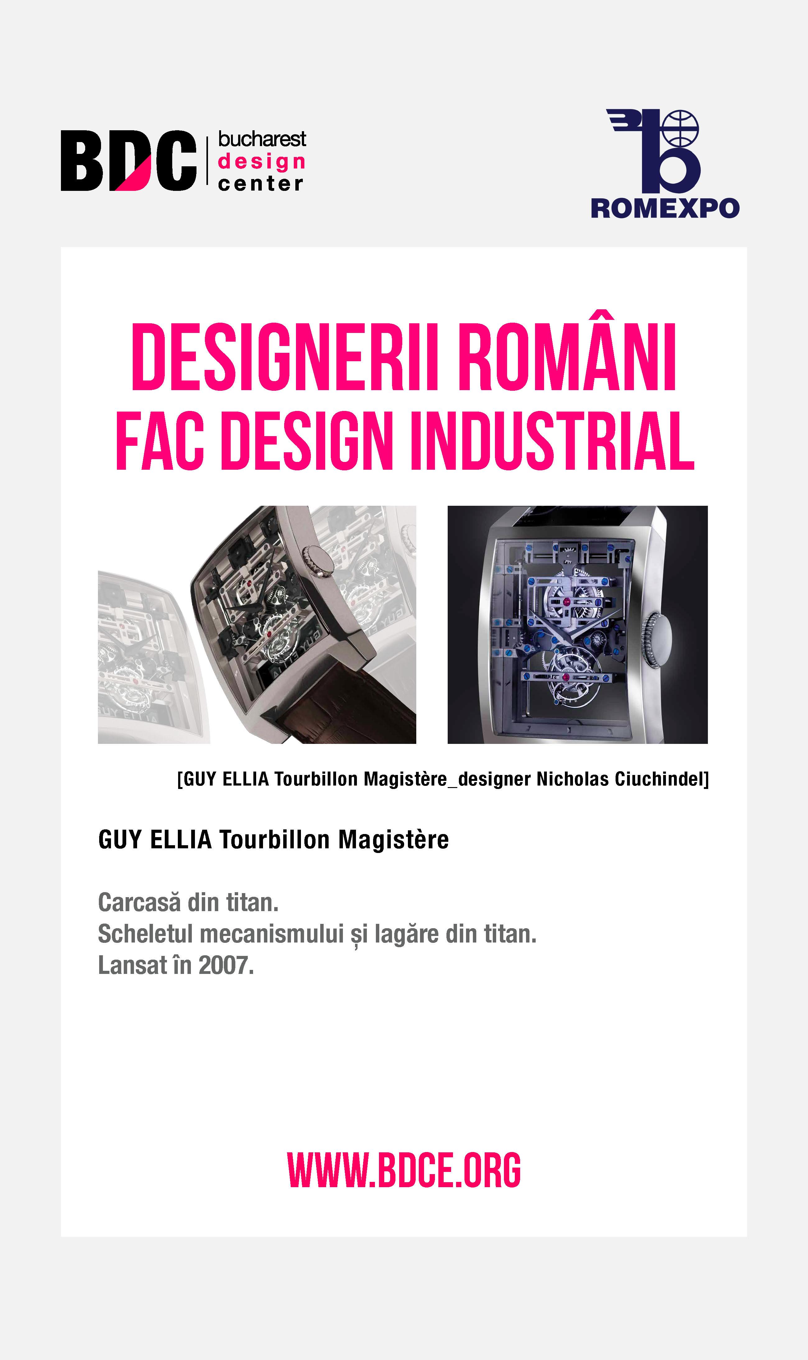 Designerii romani prezinta design industrial @ Targul Tehnic International Bucuresti [TIB] 2013