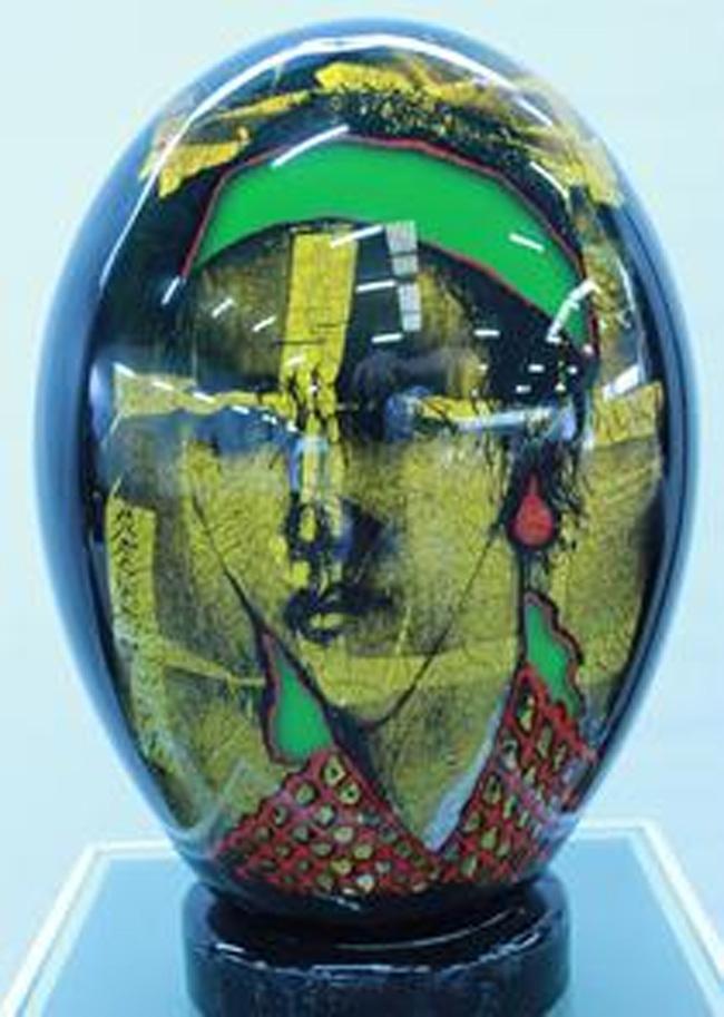 Lucrarea artistului Mihai Ţopescu a fost achiziționată de Muzeul de sticlă Hentrich din Düsseldorf