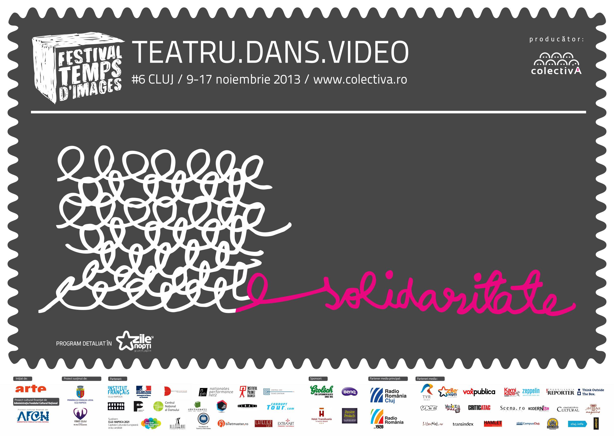 TEMPS D'IMAGES Cluj: Teatru.Dans. Video @ Asociația Colectiv A