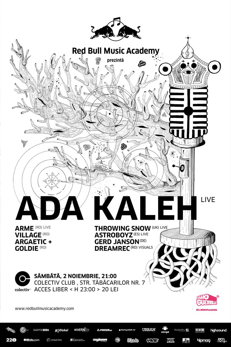 ADA KALEH live la Colectiv București prin Red Bull Music Academy