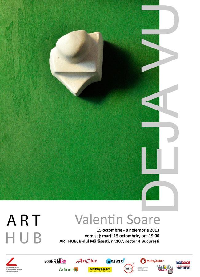 """Valentin Soare, """"DEJA VU"""" @ ART HUB, București"""