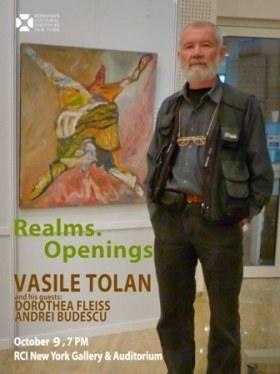 """Vasile Tolan """"Realms. Openings"""" @ ICR New York"""