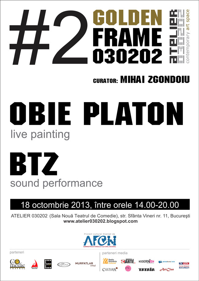 GOLDEN FRAME #2 / Obie Platon & BTZ
