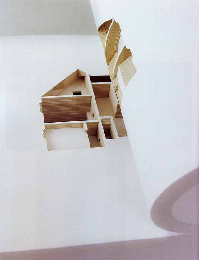 Olafur Eliasson, The Negative Space of the Artist's Home Cut Inside a 908-Page Book