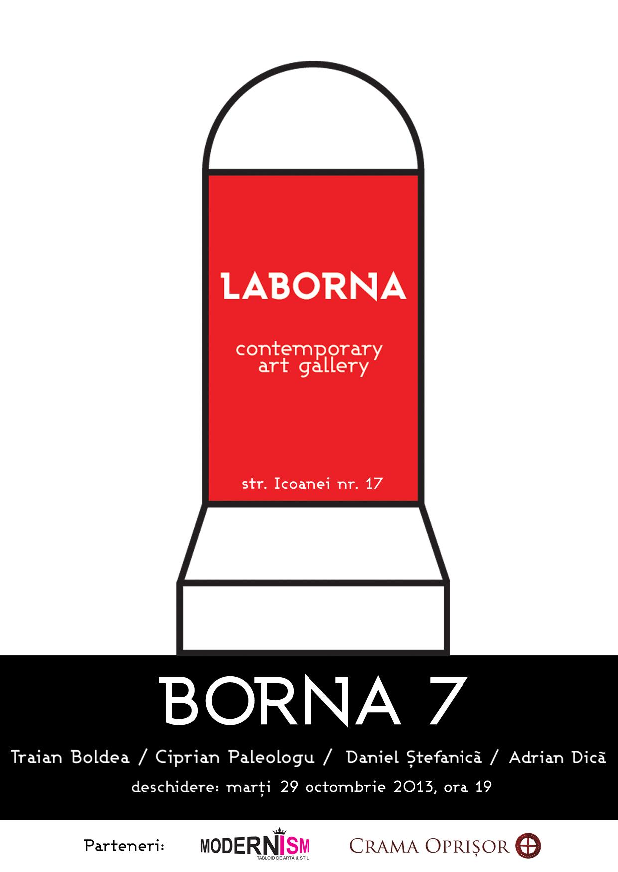 Borna 7 @ Galeria LABORNA, București