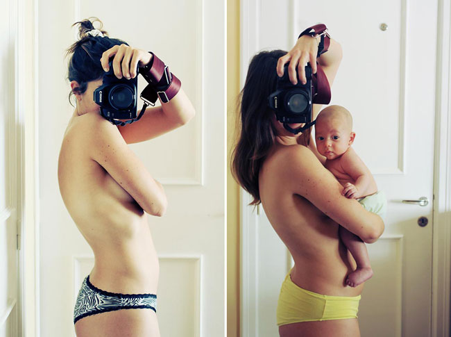 Photographer Documents Her Pregnancy In 9 Months of Intimate Selfies