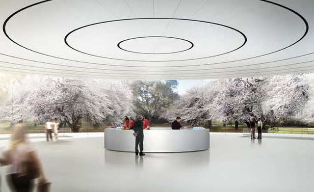New Images of Apple's Spaceship-Like Headquarters in Cupertino