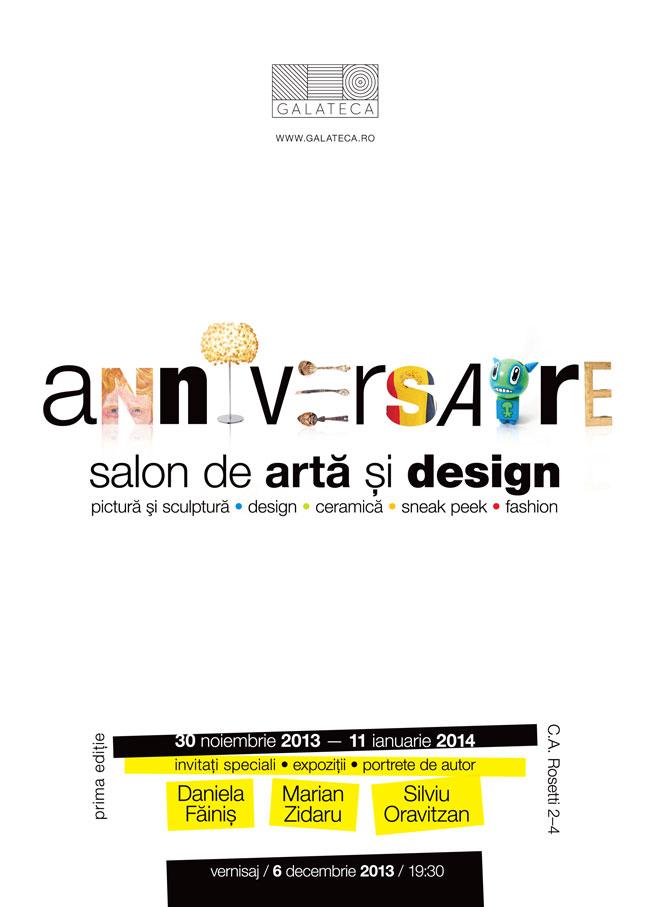 Salon de artă și design. Prima ediție @ Galateca, București