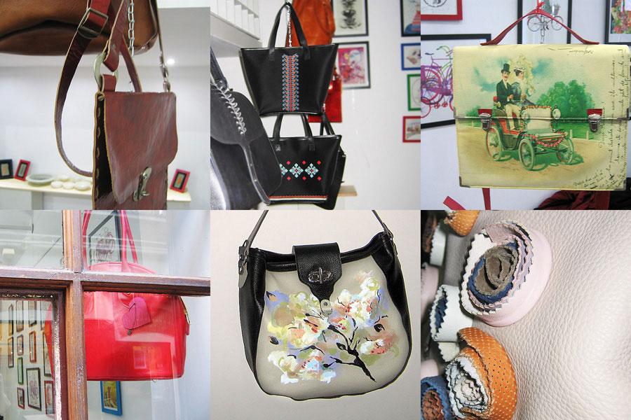 """""""The Art of Bags"""" @ Galeria 15 Design – Hanul cu Tei, București"""