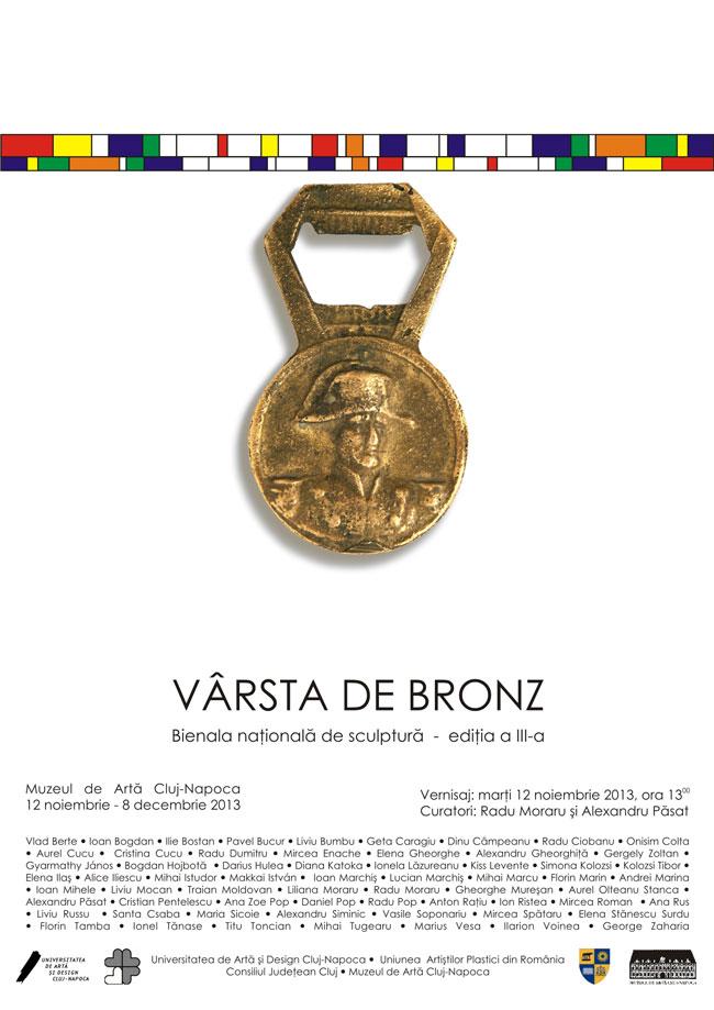 Bienala naţională de plastică mică Vârsta de bronz, ediţia a III-a