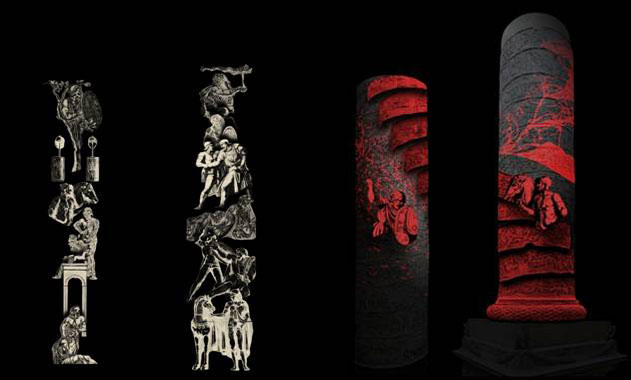 """Programul """"Columna lui Traian 1900"""" continuă la prestigiosul Muzeu V&A cu proiecţii video 3D, muzică şi dialoguri academice"""