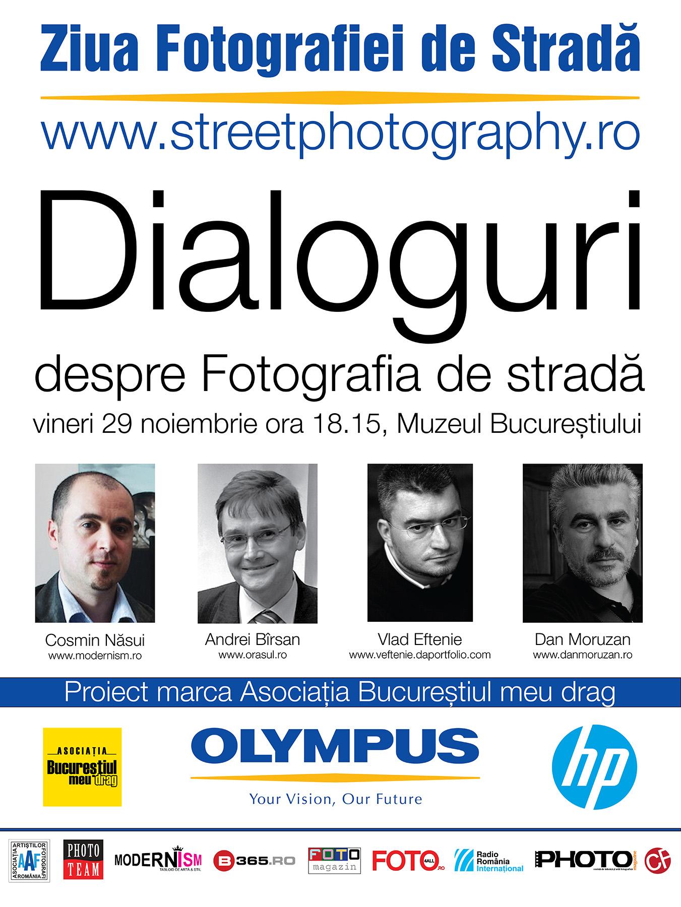 Dialoguri despre Fotografia de stradă @ Muzeul Municipiului București
