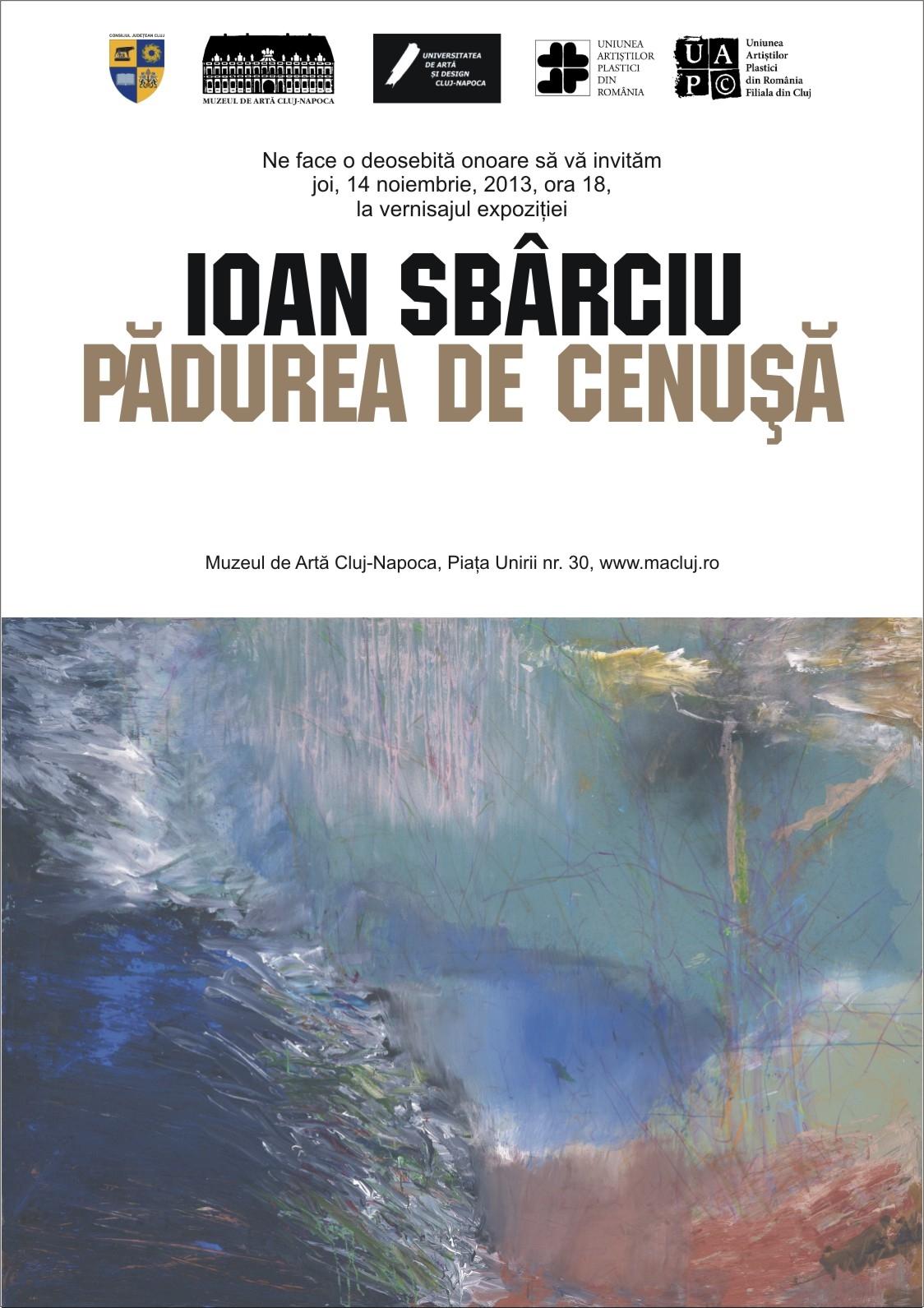Invitatie expozitie Ioan Sbarciu