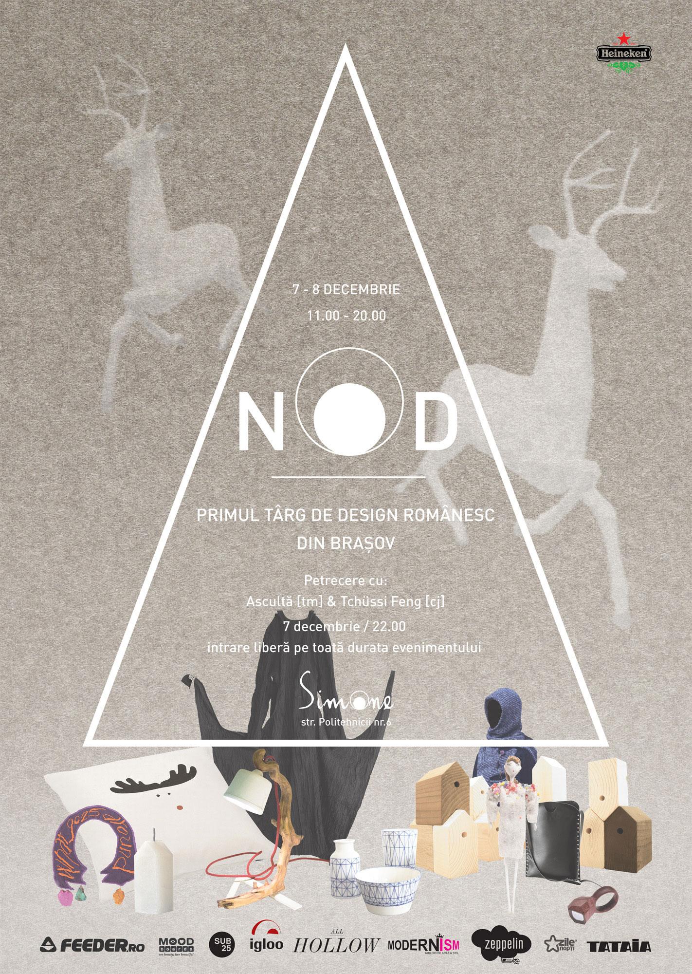 NOD – Primul târg de design românesc la Braşov