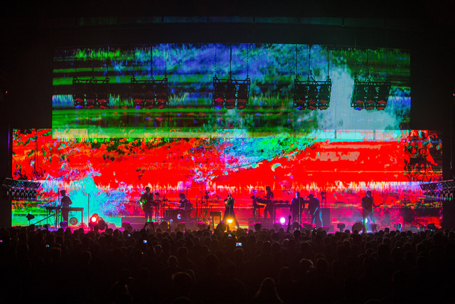Colorful Photos of Nine Inch Nails' Tension 2013 Tour