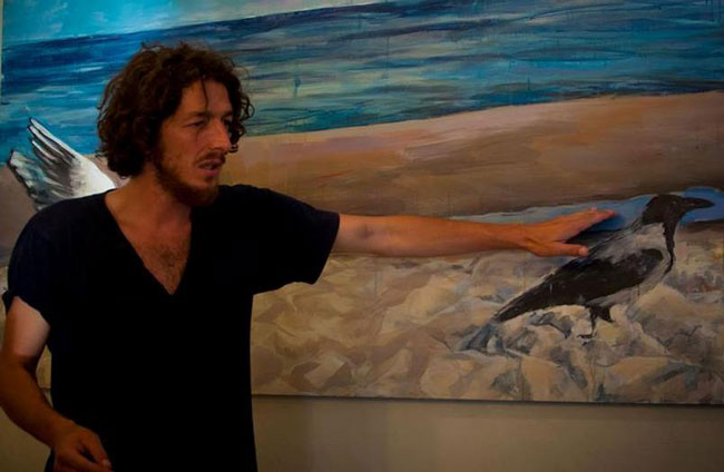 """Expoziţie de pictură în spaţiu nonconformist – """"Revolution 9013"""" de Rene Răileanu"""