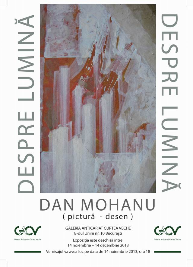Dan Mohanu – desen, pictura
