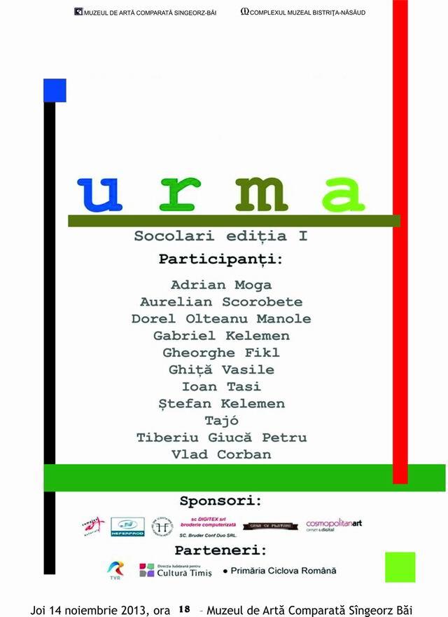 """URMA"" – SOCOLARI – EDITIA I"