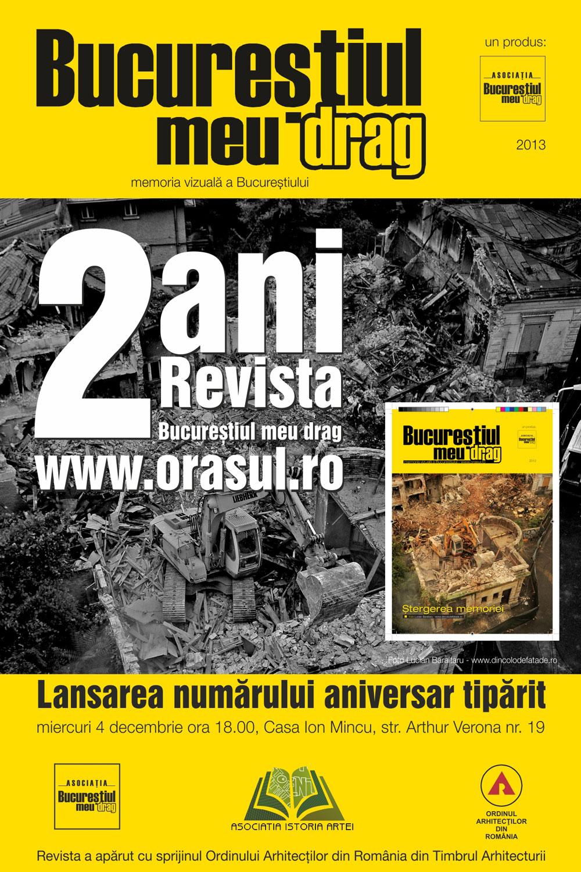 Revista Bucureștiul meu drag în al doilea an
