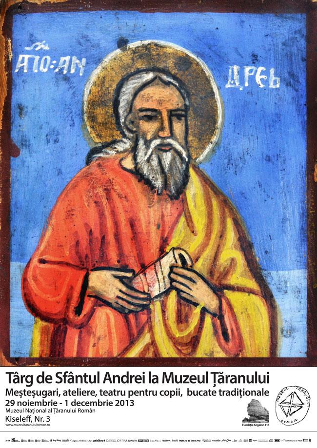 Târg de Sfântul Andrei la Muzeul Țăranului
