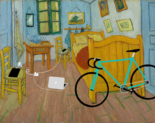 Famous Paintings Updated With 21st-Century Gadgets