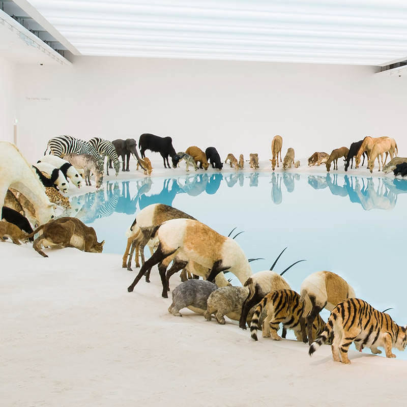 Falling Back to Earth by Cai Guo-Qiang