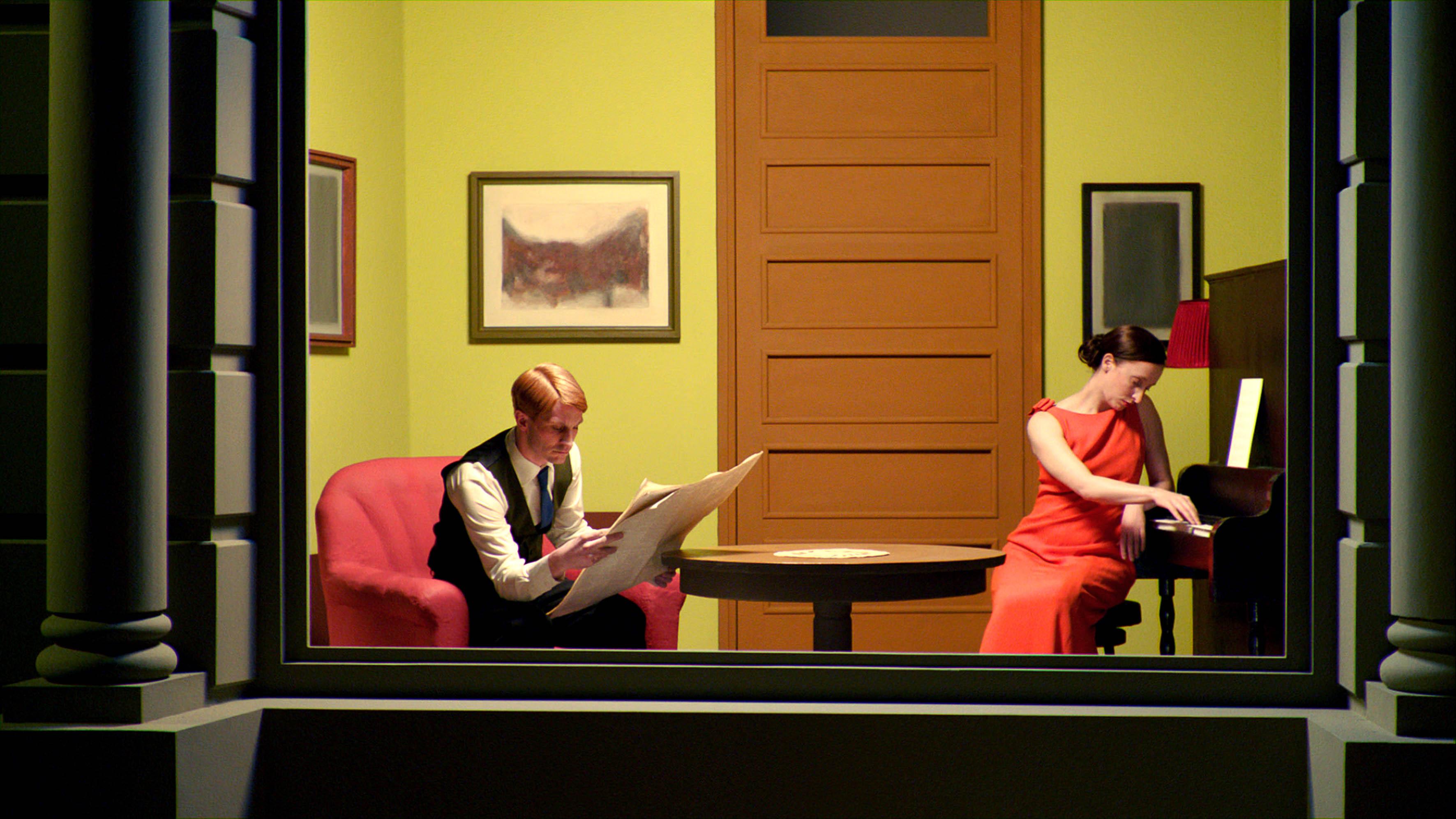 Picturile celebrului Edward Hopper prind viață în filmul-eveniment SHIRLEY – VISIONS OF REALITY la BIEFF 2013