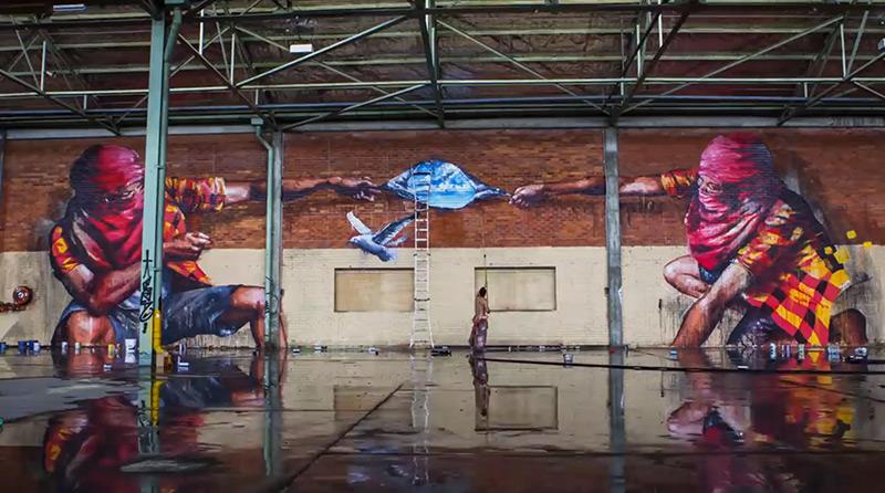 New Graffiti Timelapse from Sofles
