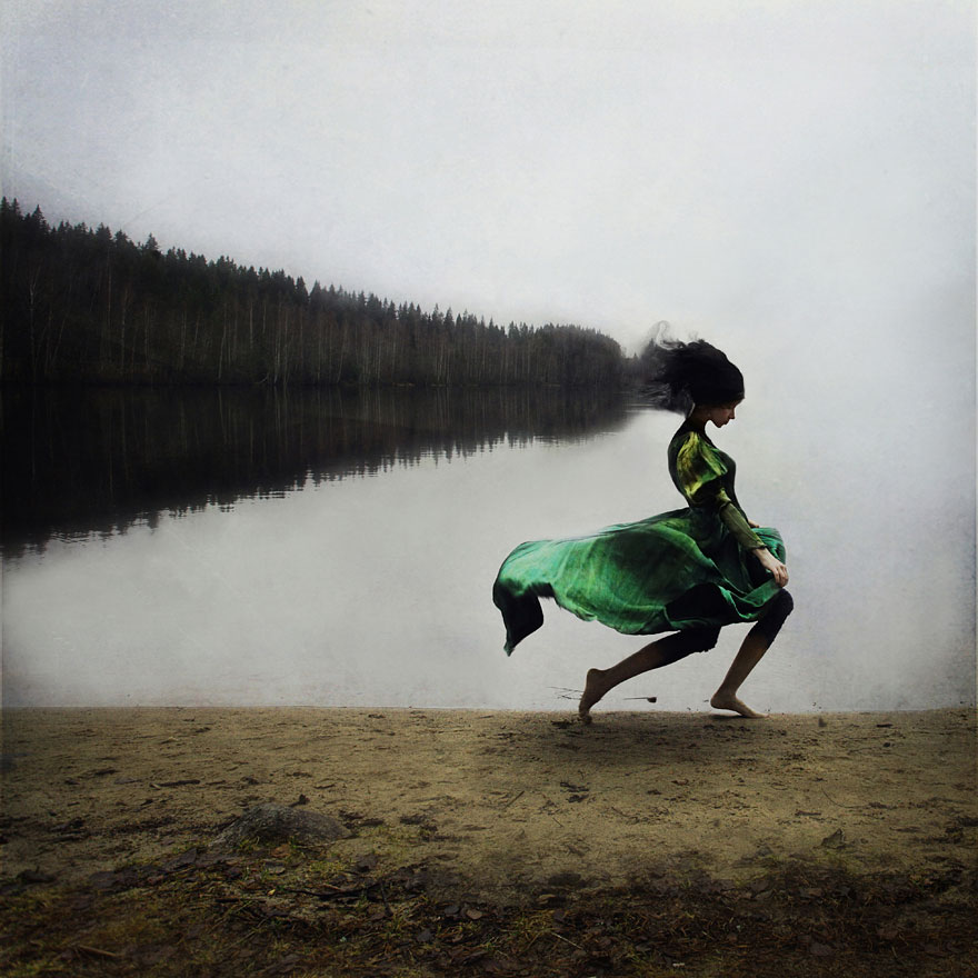 Surreal Photo Manipulations By Ex-Ballet Dancer Kylli Sparre