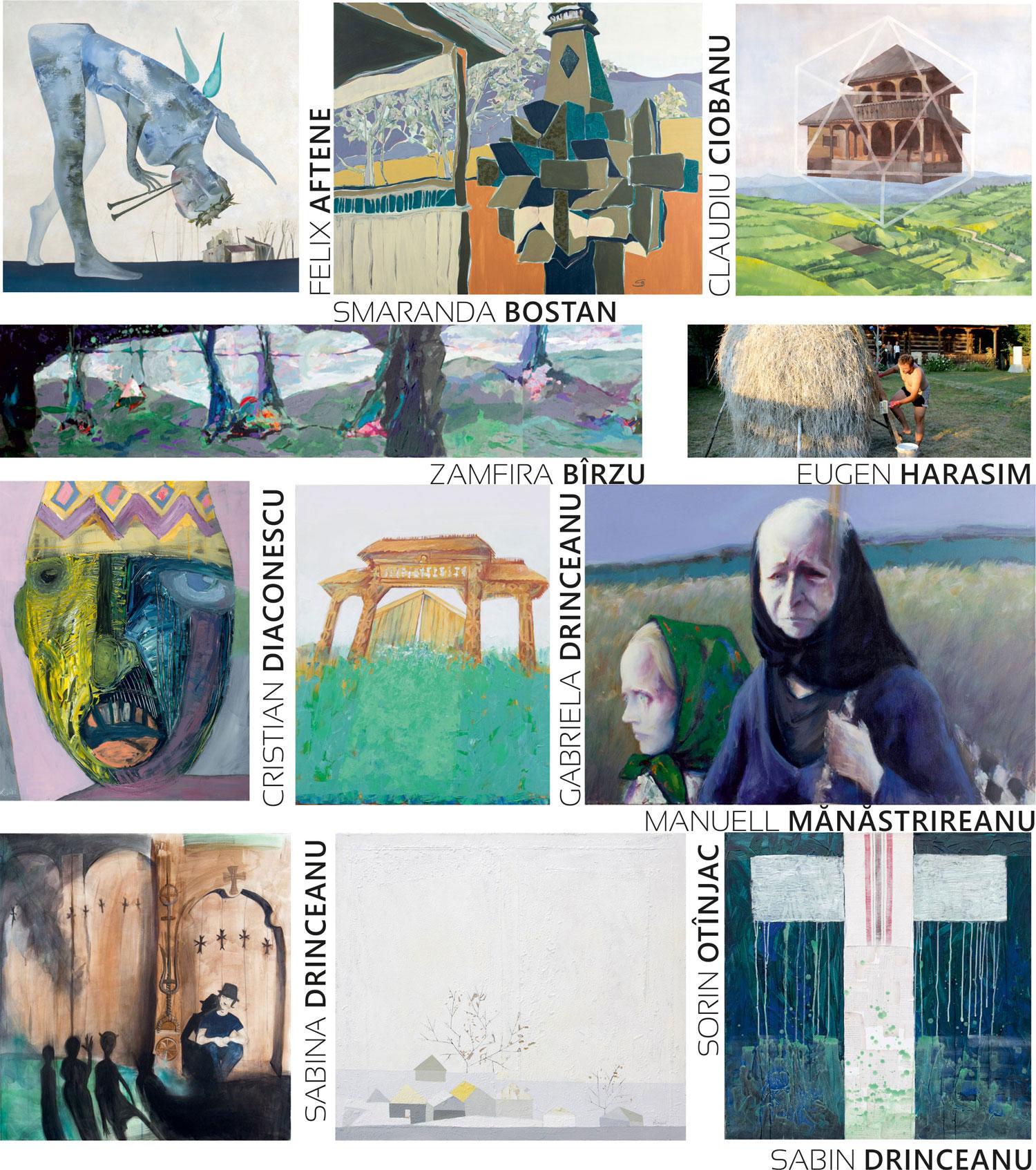 """""""De la arhietip la arta contemporană"""" @ Galeria de Artă DANA din Iaşi"""