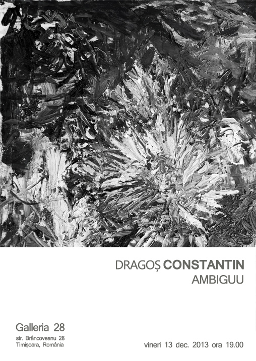"Dragoş Constantin ""AMBIGUU"" @ Galleria 28, Timişoara"