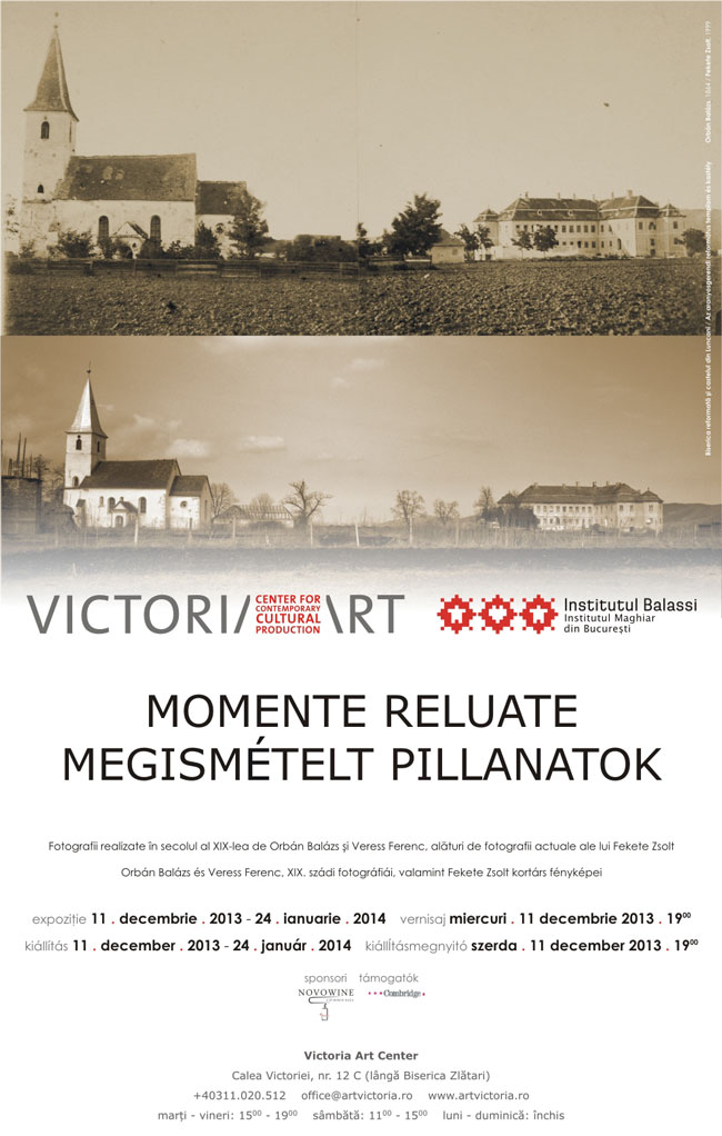 "Fekete Zsolt, ""Monumente reluate"" @ Victoria Art Center, București"