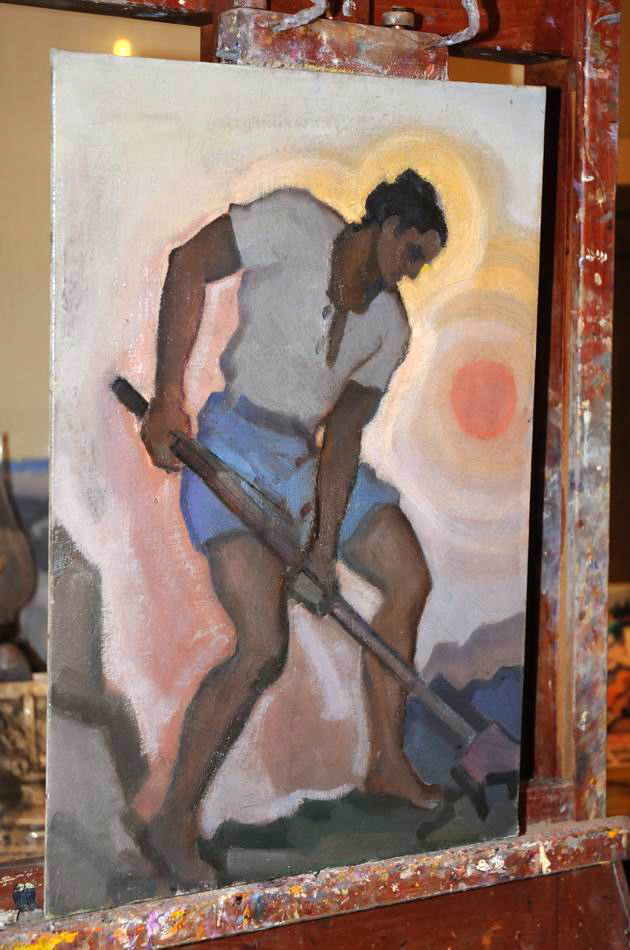 Giorgos Pitsios -  atelier pictura - Atena - Grecia - foto lucian muntean05