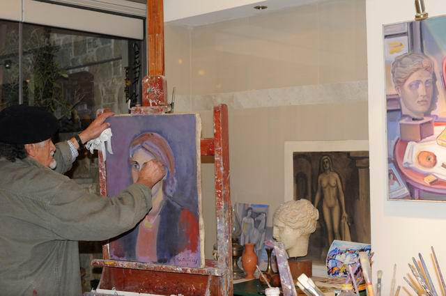 Giorgos Pitsios -  atelier pictura - Atena - Grecia - foto lucian muntean07